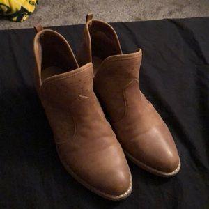 Women's low cut boots.
